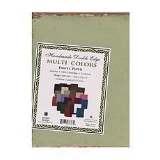 """SHIZEN DESIGN Multi-Color Pastel Paper 25-Pack 8.5"""" x 11"""""""