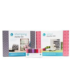 Silhouette Pen, Vinyl and Stamp Starter Bundle
