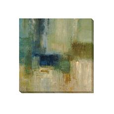 Simon Addyman's Green Abstract Canvas Giclee Art