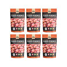 Simple Kitchen 6-pack Freeze-Dried Peaches AS