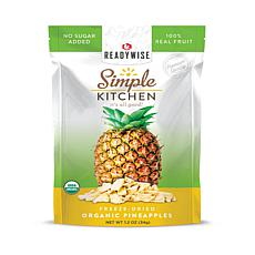 Simple Kitchen Organic Freeze-Dried Pineapples 6-Pack