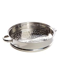 "Simply Ming Stainless Steel 12"" Jumbo Steamer Basket"