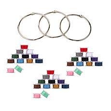 Singer Class 15J Assorted Color Bobbin and Storage Ring Bundle