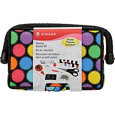 Singer Sewing Basket - Bright Dots