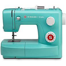 Singer Sewing Machine, Green