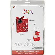 Sizzix BIGkick/Big Shot/Vagabond Texturz Impressions Pad - 8.875X5....