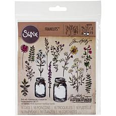 Sizzix Framelits Dies By Tim Holtz 23-pack - Flower Jar
