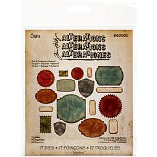 Sizzix Thinlits Dies By Tim Holtz 17-pack - Labels