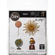 Sizzix Thinlits Dies By Tim Holtz 6-pack - Circle Play