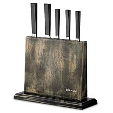 Skandia Iceland 6-Piece Forged Knife Block Set
