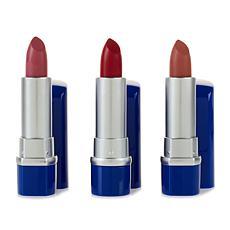 Skinn® Cosmetics 3-piece DWP Creme Velour Lipstick Set