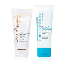 Skinn® Cosmetics DermAppeal® 2-piece Face and Body Exfoliating Set