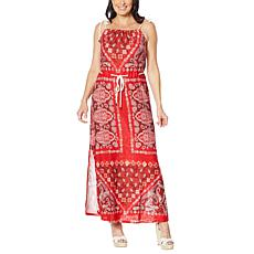Skinnygirl Decision Making Rope Strap Maxi Dress