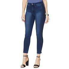 Skinnygirl Embroidered Side Stripe Skinny Jean