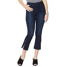 Skinnygirl High-Rise Cropped Flare