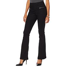 Skinnygirl High Rise Polished Flare Jean