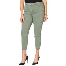 Skinnygirl High-Rise Skinny Cropped Jean - Fashion