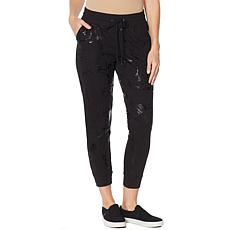 Skinnygirl Laugh French Terry Jogger Pant