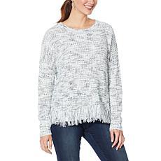 Skinnygirl PJ Marled Knit Sweater