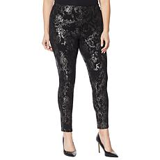 Skinnygirl Seamless Pull-On Printed Ponte Pant
