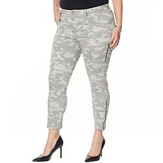 Skinnygirl Twill Jeans with Seams