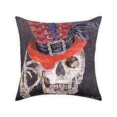 Skullastic Indoor Outdoor Pillow