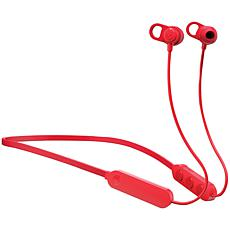 Skullcandy Jib+ Wireless In-Ear Earbuds with Microphone - Red
