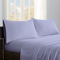 Sleep Philosophy Micro Fleece Sheet Set - Lavender - King