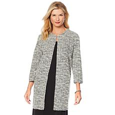 Slinky® Brand 2-Tone Textured Duster with Pockets