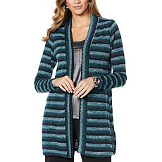 Slinky® Brand Long-Sleeve Sweater Duster