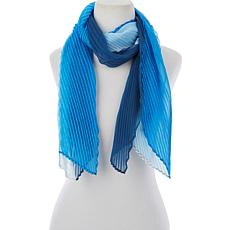 Slinky® Brand Pleated Colorblock Scarf