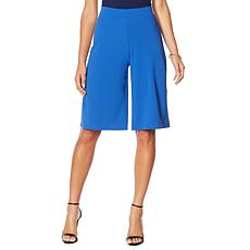 Slinky® Brand Solid Luxe Crepe Walking Short