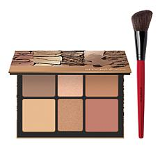 Smashbox Cali Contour Palette with Blush Brush Set