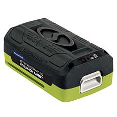 Snow Joe® EcoSharp Lithium-Ion 40V Battery