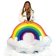 "SnowCandy Artic Rainbow Jumbo 48"" Snow Tube"