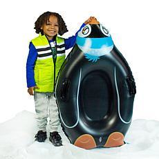 SnowCandy Penguin Snow Sled