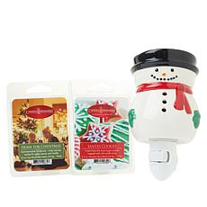 Snowman Plug-in Warmer with 2 Wax Melts