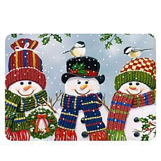 Snowman Premium Comfort Christmas Floor Mat