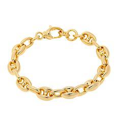 Soave Oro 14K Gold Electroform Mariner-Link Bracelet