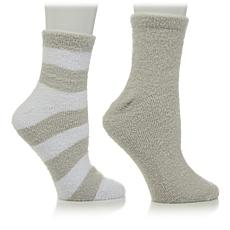 Soft & Cozy 2-pack Aloe-Infused Socks