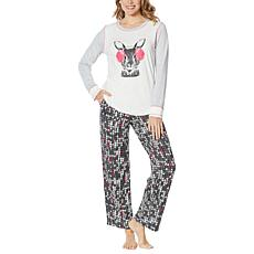 Soft & Cozy Long-Sleeve Top and Pant Jersey Gift Set