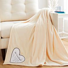 Soft & Cozy Special Comfort Plush Throw with Gift Box