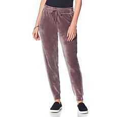 Soft & Cozy Velour Drawstring Jogger