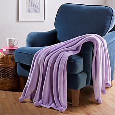 Soft & Cozy Woven Throw with Pom Poms