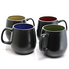 Soho Cafe 4-piece 20 oz. Mugs