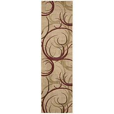 "Somerset Beige Area Rug - 2'3"" x 8'"