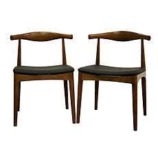 Sonore Solid Wood Mid-Century Style Dining Chairs