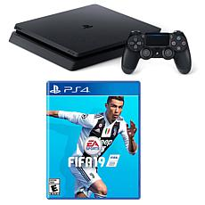 "Sony PlayStation 4 1TB Core Console with ""FIFA 19"" Game & Accessories"