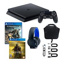 Sony PlayStation 4 PS4 Slim 1TB Console with 2 Games & Accessories