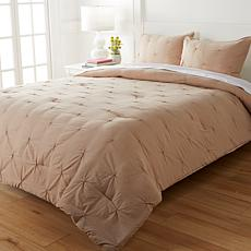 South Street Loft 3-piece Vintage Wash Pintuck Comforter Set